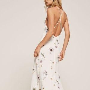 Reformation Renee Dress in Gardenia